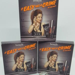 3 boxes Benefit -Easy was a crime 3 pc/each -Minis